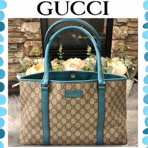 Authentic Gucci Guccissima tote